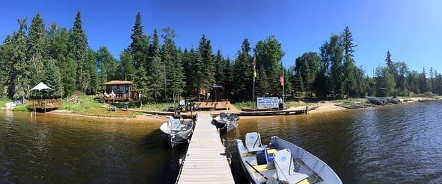 Saskatchewan fishing camps