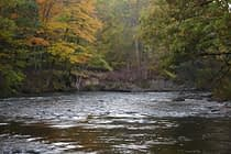 Fall on the Pere Marquette River