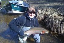 Fly Fishing in Baldwin Michigan