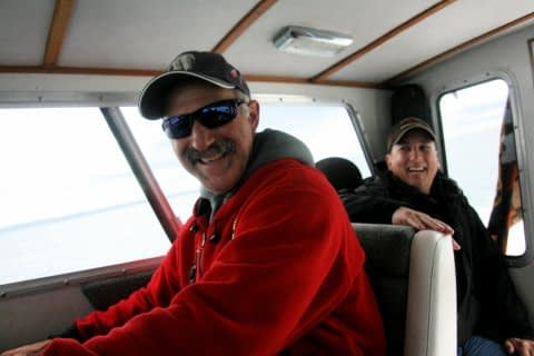 Kenai Charter Fishing Captain Larry Cobb