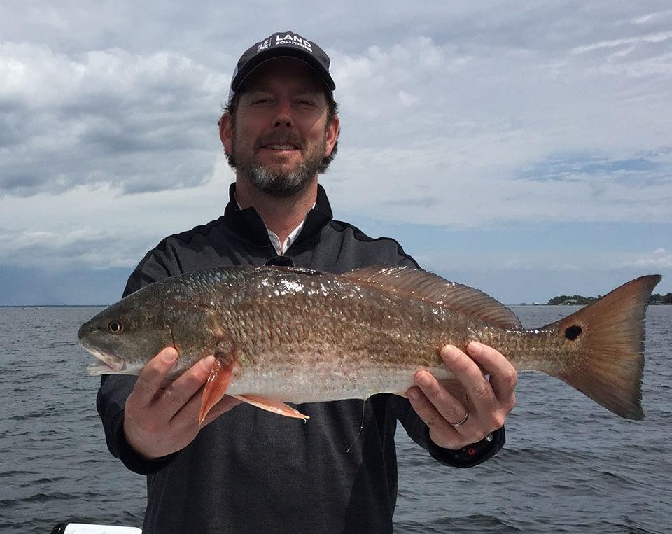 destin redfish fishing