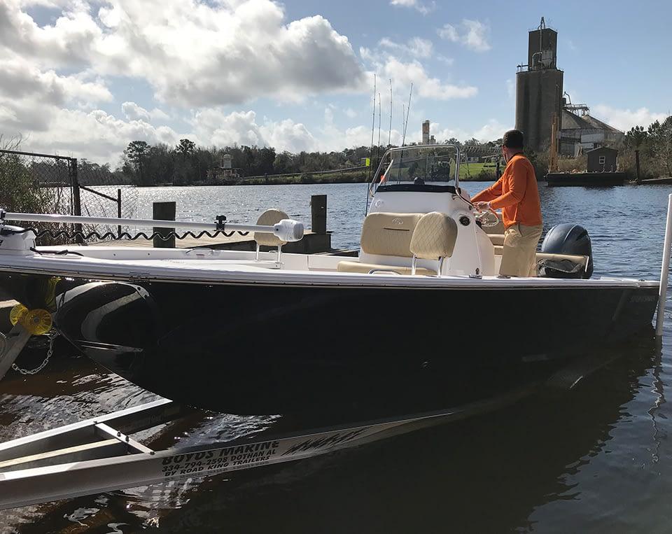 destin fishing boat