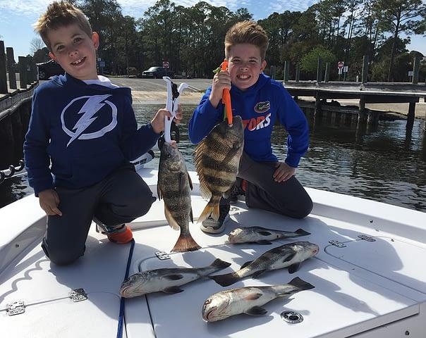 destin family fishing