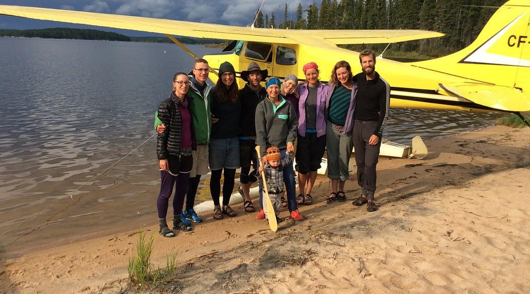 Saskatchewan fishing camp