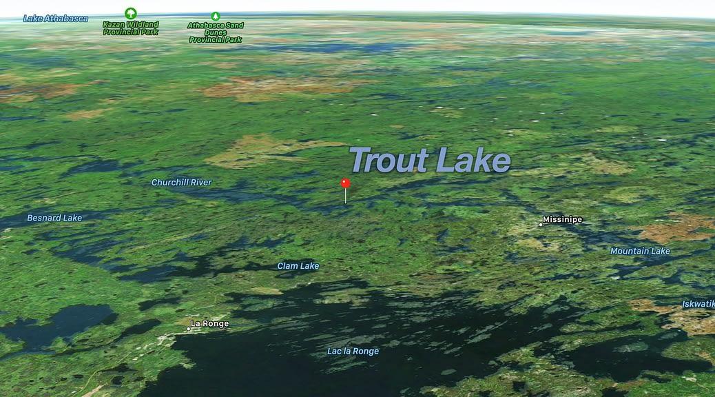 Saskatchewan Trout lake