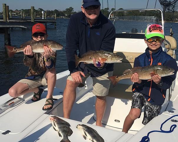 destin fl family fishing