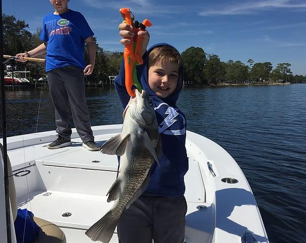 Destin Florida Inshore Flatwater Fishing