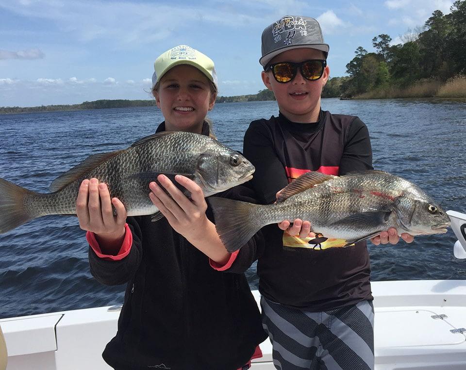 destin fl inshore fishing redfish